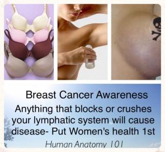 Heal Your lymph & breasts