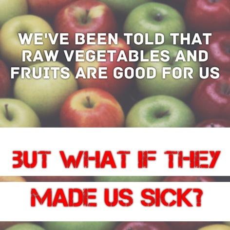 raw food tied to illness