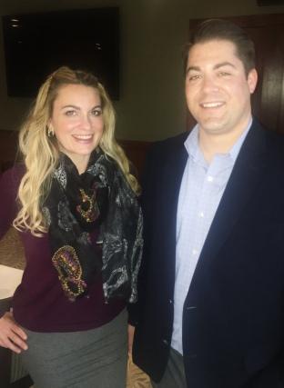 Aurore Henze with Kyle Bingham